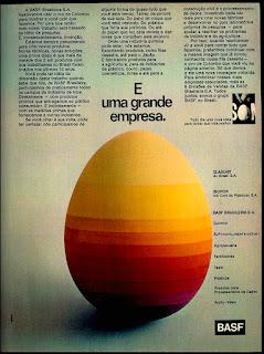 Basf, audio vídeo, glassurit, isopor, anos 70.  1974. década de 70. os anos 70; propaganda na década de 70; Brazil in the 70s, história anos 70; Oswaldo Hernandez;