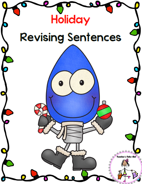 Holiday Revising Sentences