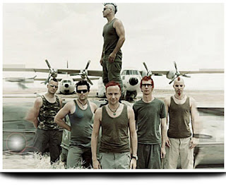 imagen promocional Rammstein Adios
