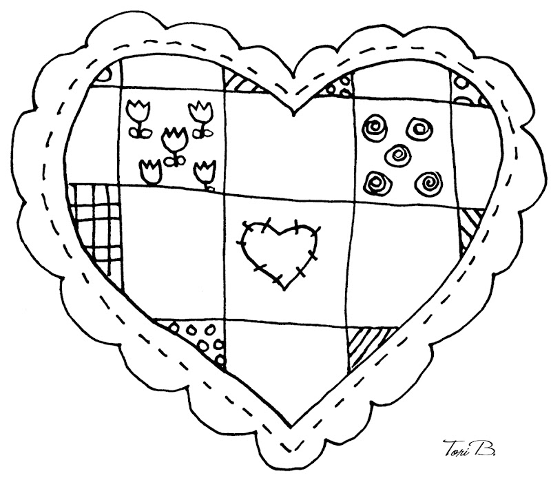 To save Patchwork Heart to your computer, please click on the image  title=