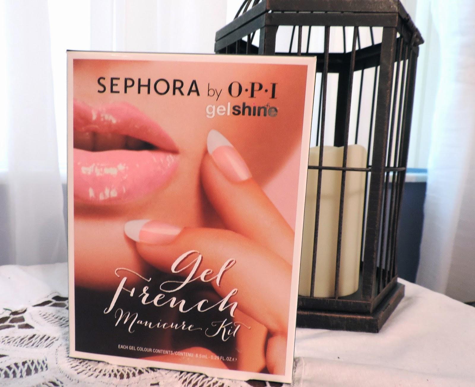 Charm Beauty: Mani Monday: Sephora by OPI Gel French Manicure Kit