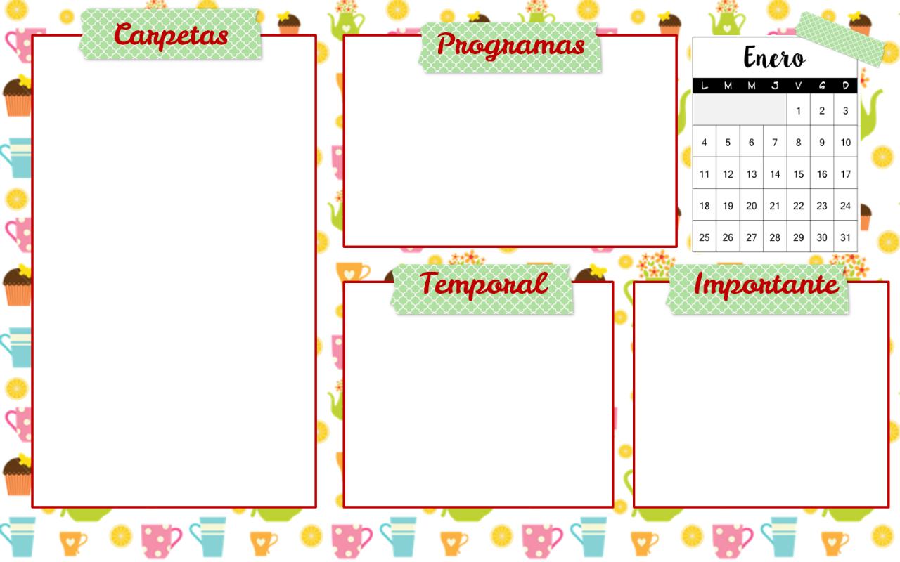 descargar fondo de pantalla organizador enero segurito blog