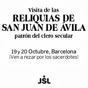 Visita Reliquias de San Juan de Ávila a Barcelona