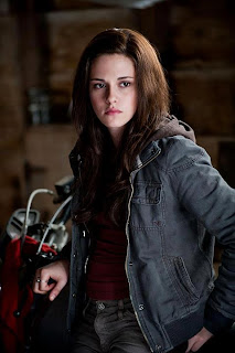 Bella Swan on motor bike