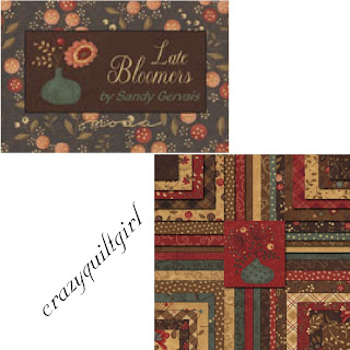 Moda LATE BLOOMERS Quilt Fabric by Sandy Gervais