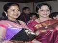 Actress Y Vijaya Daughter Wedding Reception