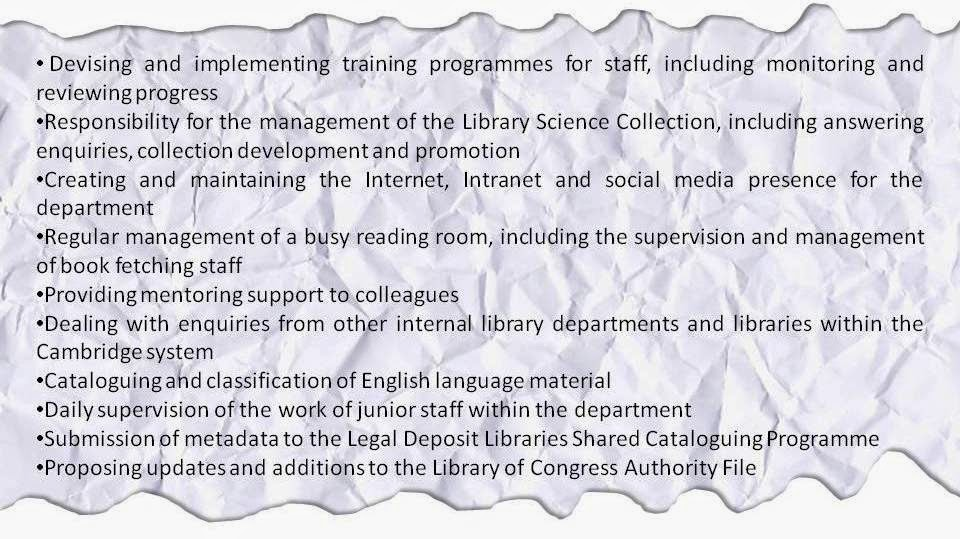 Librarian In Training  Librarian Cv