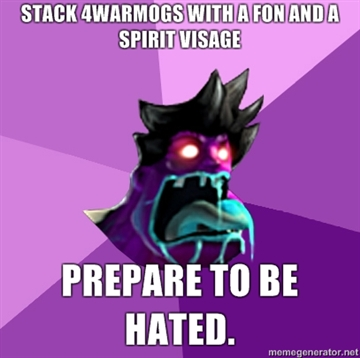 LOL league of legends Stack-4Warmogs-with-a-FoN-and-a-spirit-visage-Prepare-to-be-hated