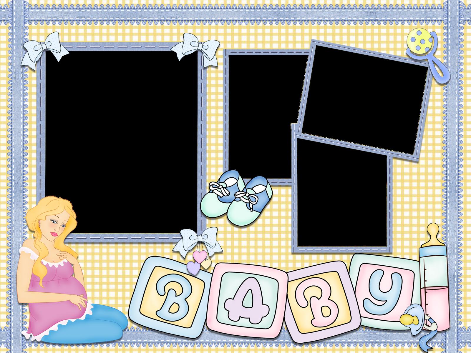 El rinc n de andre to hermosos marcos para fotos de bebes - Marcos sencillos para fotos ...