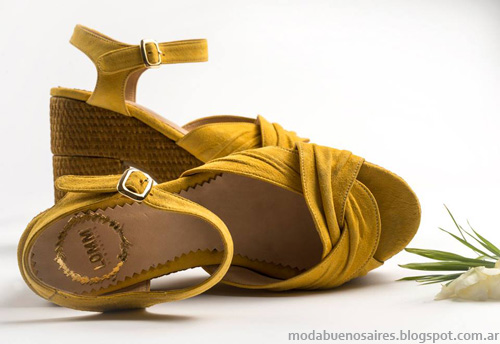 Zapatos Lomm verano 2014. Sandalias Moda 2014.