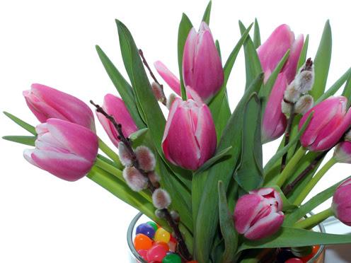 DIY: Easter Vase