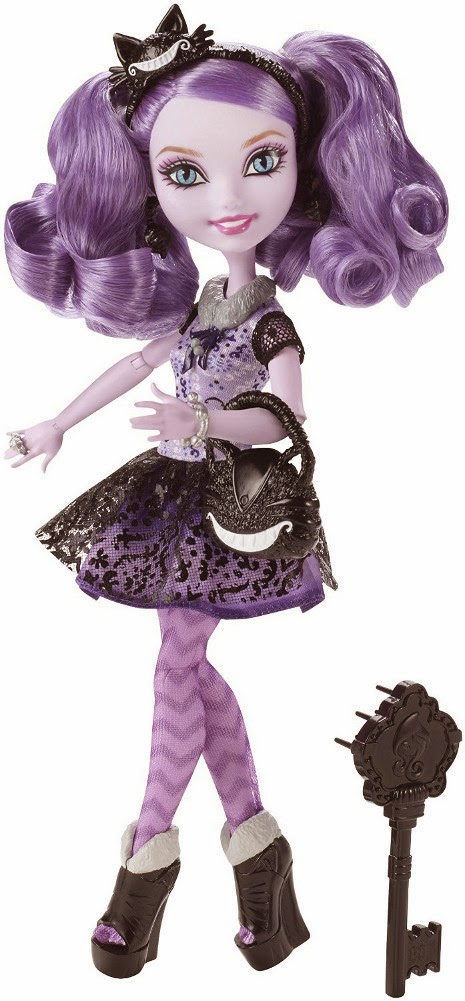 JUGUETES - EVER AFTER HIGH   Kitty Cheshire | Muñeca  Producto Oficial | Mattel | A partir de 6 años