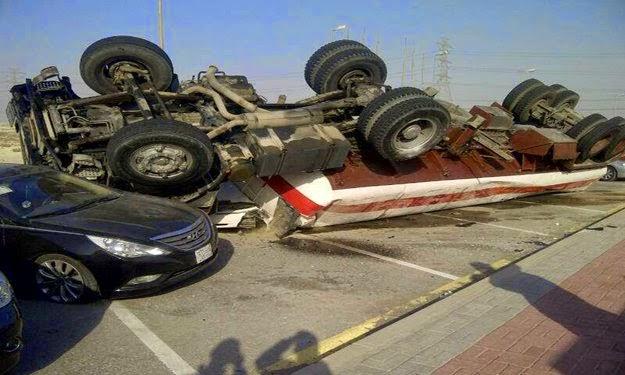 مصر تحتل المركز العاشر عالميًا في حوادث الطرق