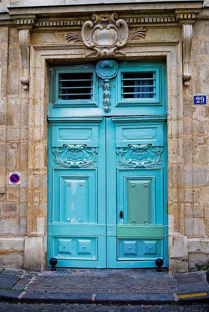 La fabrique d co oser la couleur peindre les portes de la maison l 39 int rieur et l 39 ext rieur - Combien de portes a paris ...