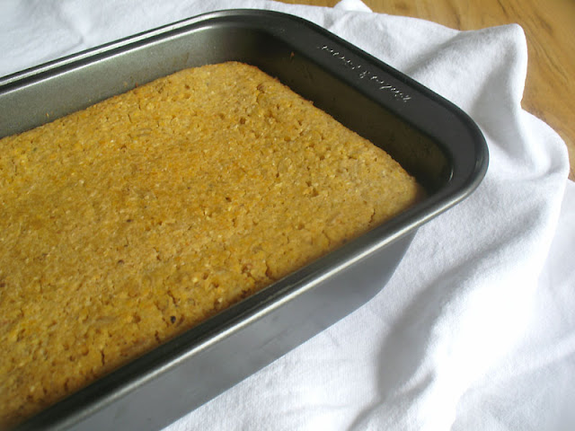 cornbread with brown rice