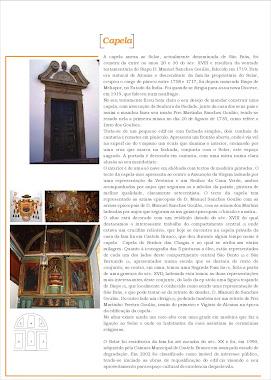 Folheto Solar/Capela de São Brás