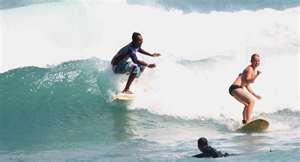 surfing in Kuta, surfing in Seminyak, bali surfer paradise