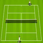 لعبة كرة المضرب في ويمبلدون