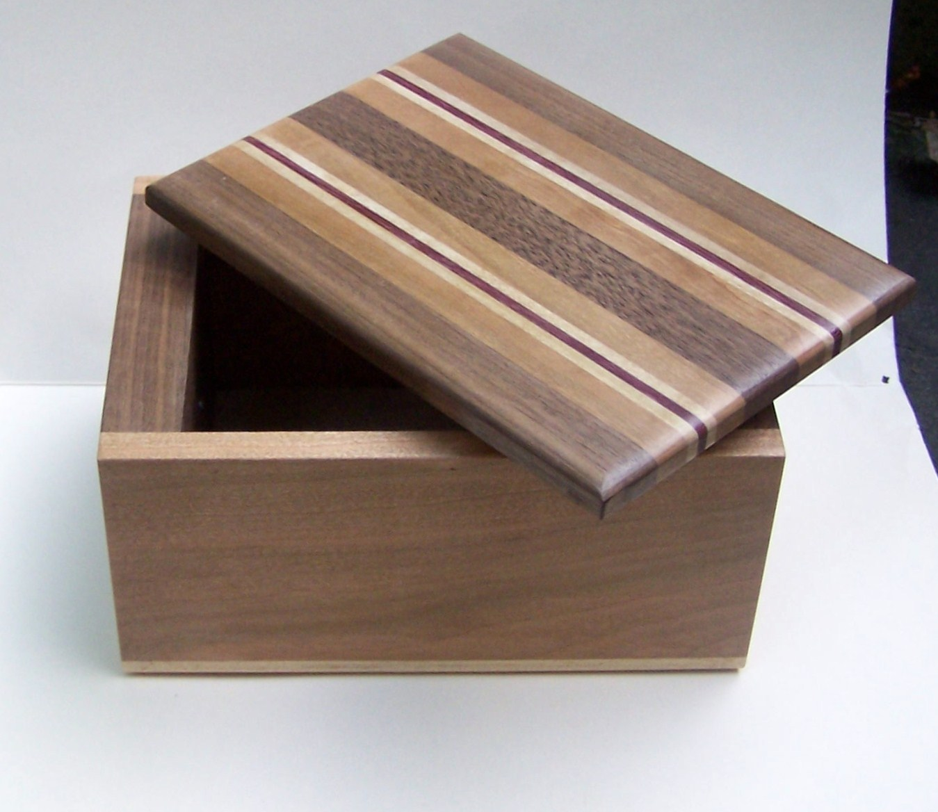 Motherhood and Mindfulness: Wooden Box