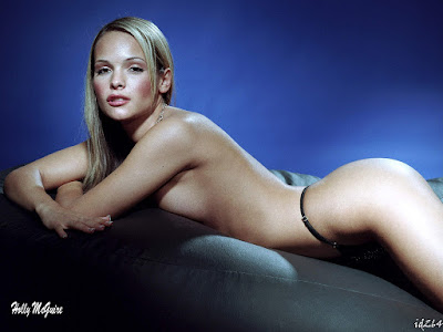 Hot Model Holly Mcguire Semi Nude Wallpaper