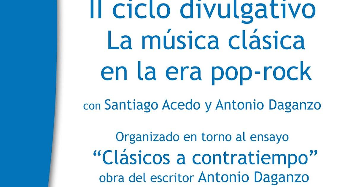 Sinfon a de las palabras ii ciclo de divulgaci n musical for Casa piscitelli musica clasica