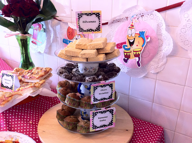 4 tier Dessert Stand using cups and plates