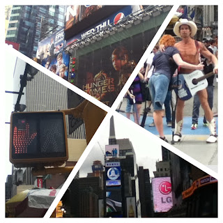 time square, nyc, naked cowboy, city,