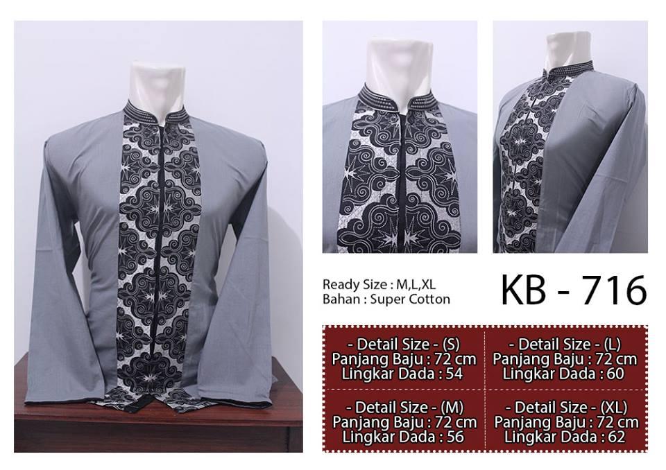 baju koko 2013 model batik kombinasi