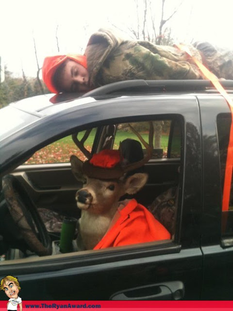 Funny Hunting Picture: Reverse Roles
