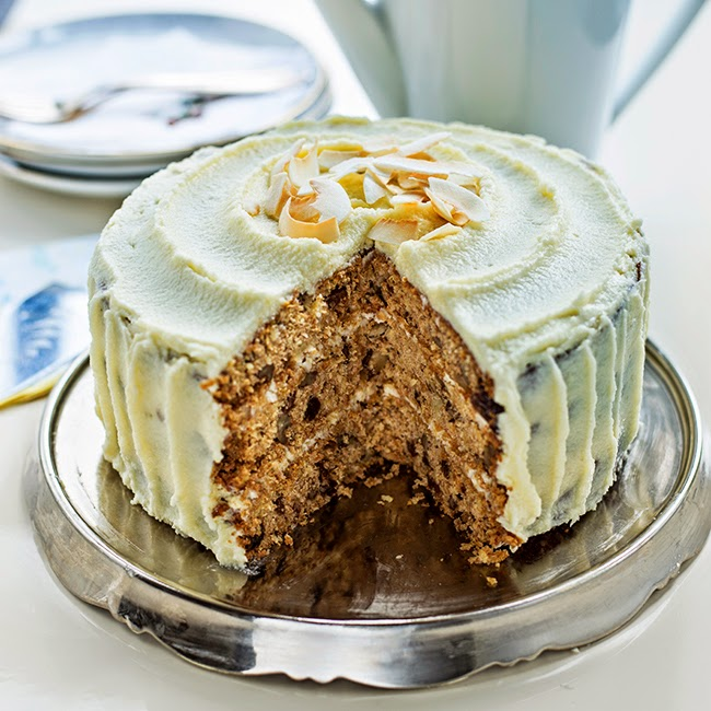 supergolden bakes: sugar free carrot cake