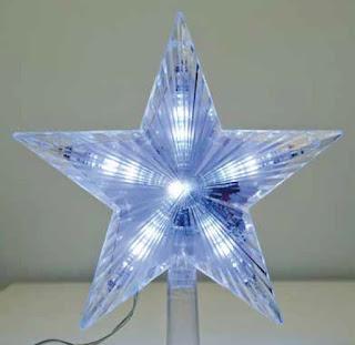 Χριστουγεννιάτικα αστέρι κορυφή