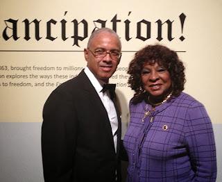 Glenn Tunstull and Martha Reeves