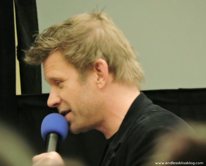 mark pellegrino at supernatural con in houston 2015