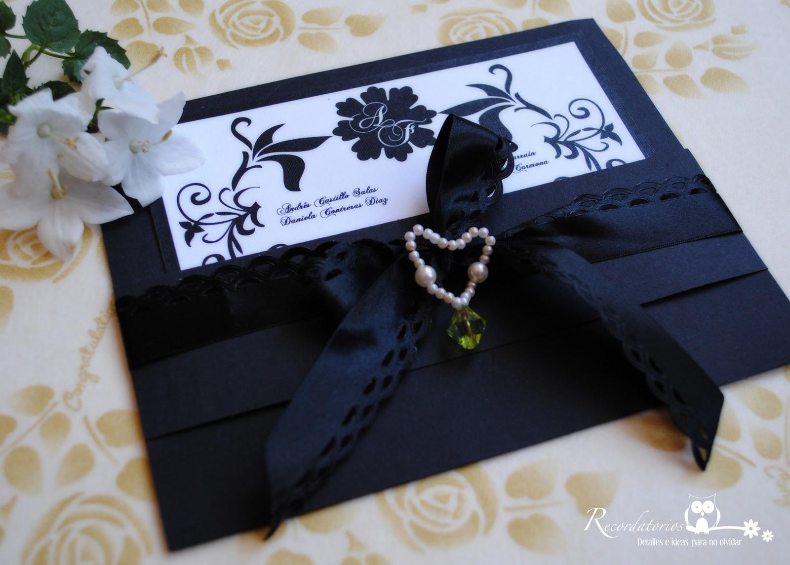 Recordatorio detalles e ideas para no olvidar abril 2011 - Detalles de boda elegantes ...