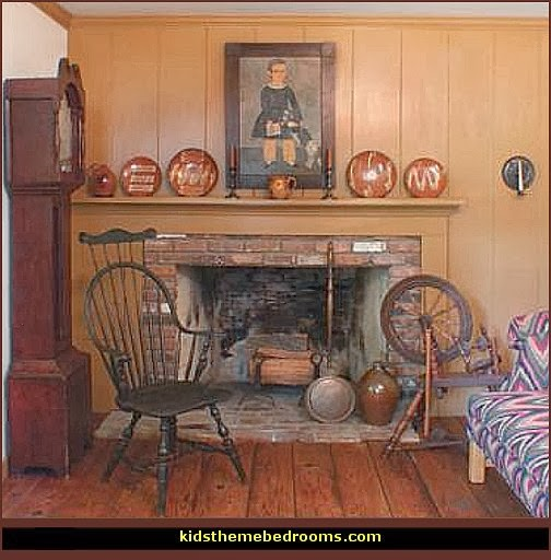 Decorating Style Folk Art Heartland Decor Colonial Country
