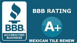 Mexican Tile Renew Sarasota Fl has obtained A+ rating with Better Business Bureau