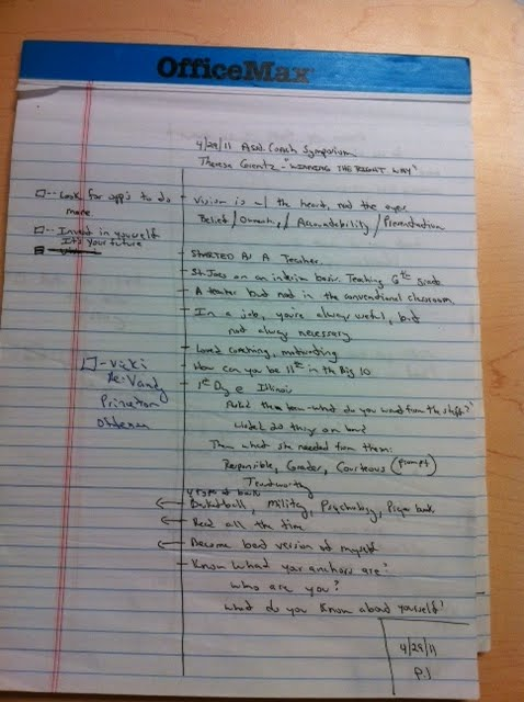 Lipscomb WomenS Basketball Thoughts Cornell Note Taking Page Example