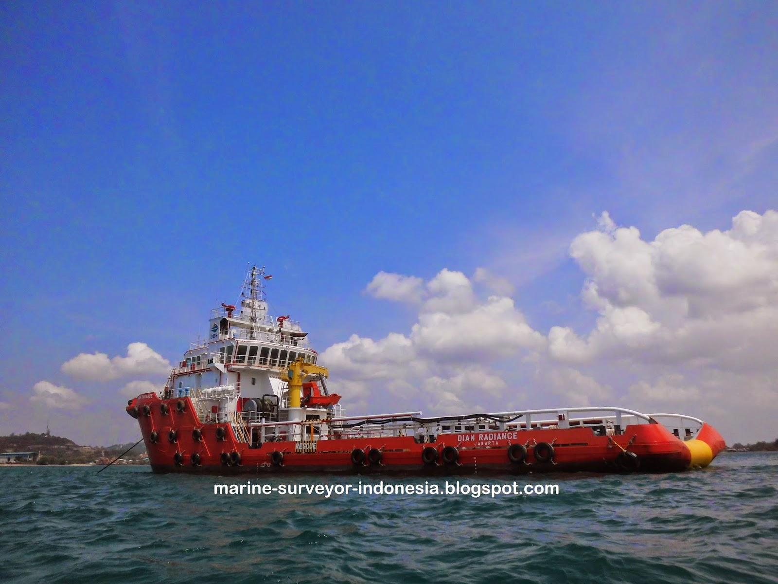Suitability Survey Kapal AHTS. Dian Radiance Di Sekupang, Batam