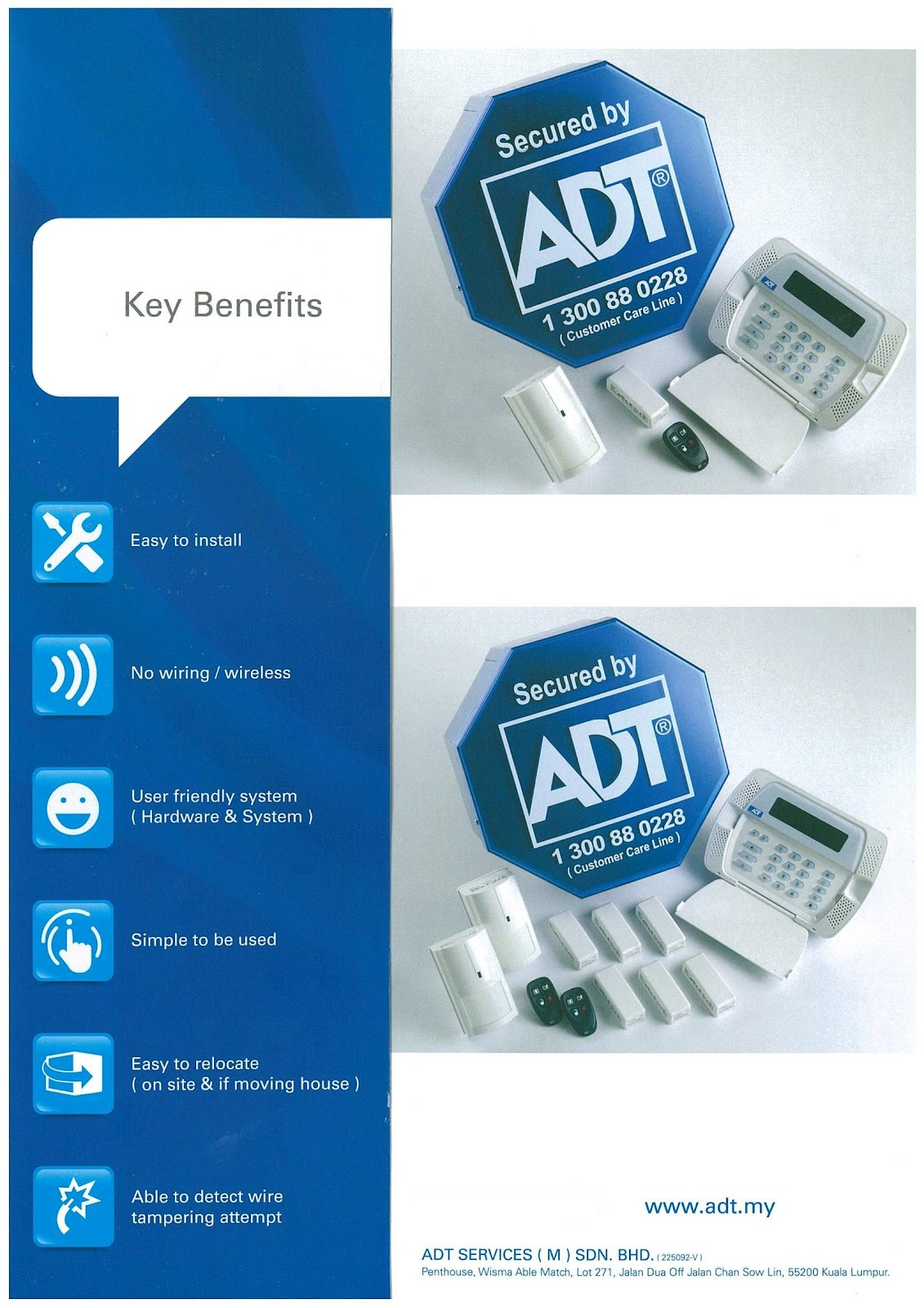 ADT Home & Business Alarm System