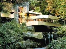 A Casa da Cascata de Frank Lloyd Wright,