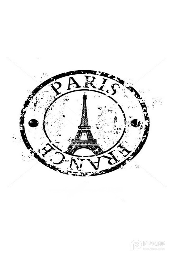 Paris France Postmark   Galaxy Note HD Wallpaper