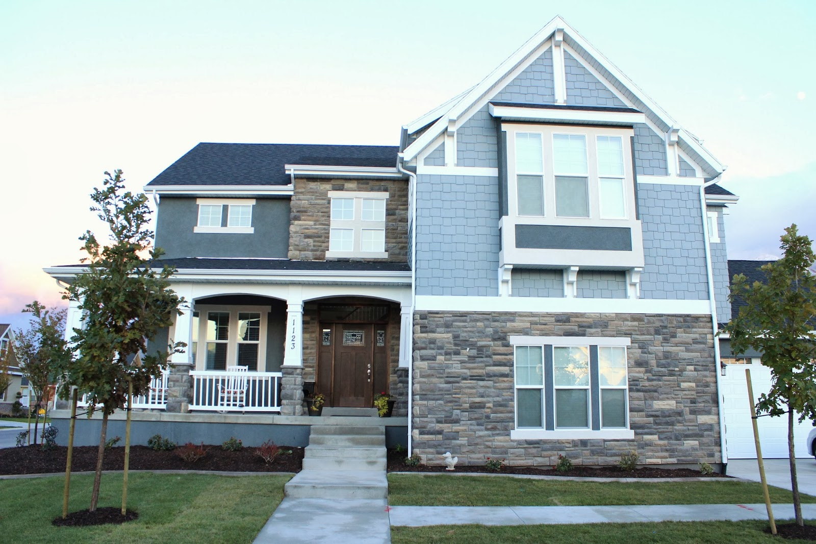 Craftsman Style Homes New Construction House Design Ideas