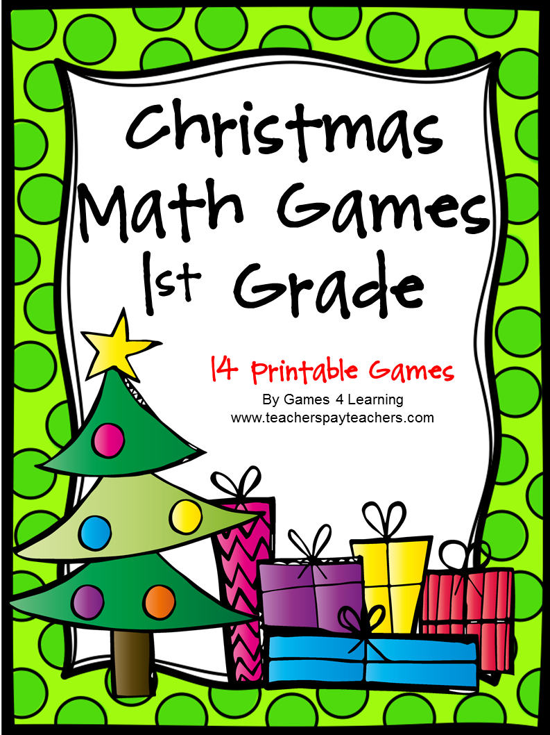 Christmas math games 1st grade christmas math games 2nd grade for Cool christmas math games