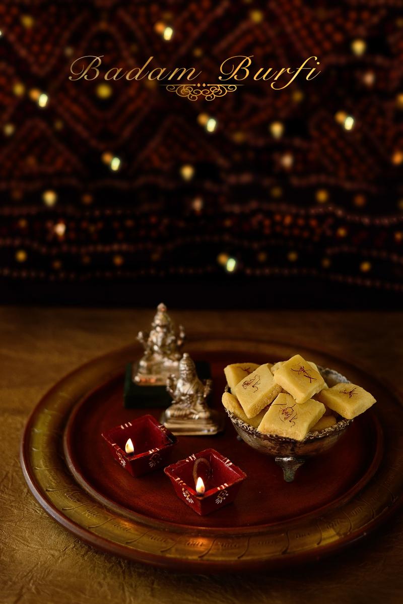 #HappyDiwali, #BadamBurfi #AlmondBurfi #AlmondFudge #Dessert #Indian #FoodPhotography #SimiJoisPhotography
