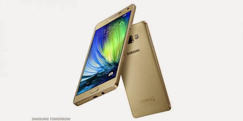 Galaxy A7, Android Tertipis Samsung Diperkenalkan