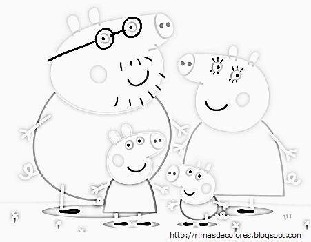 Blog de los niños: Peppa Pig para colorear