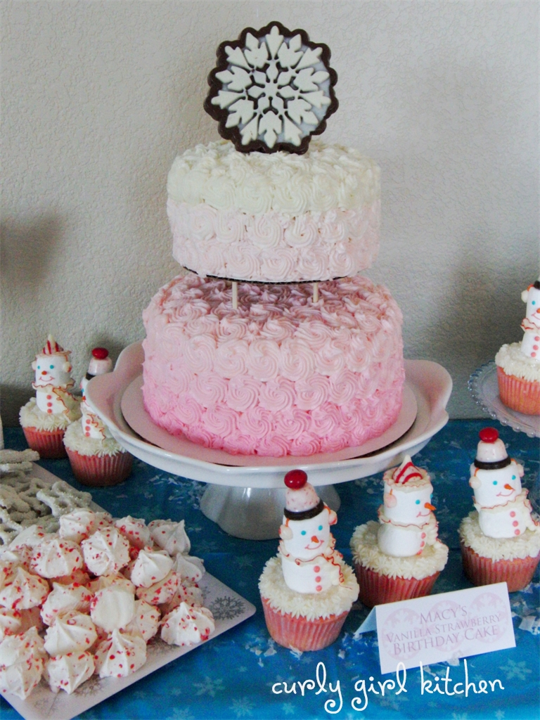 Curly Girl Kitchen A Winter Wonderland Birthday Party