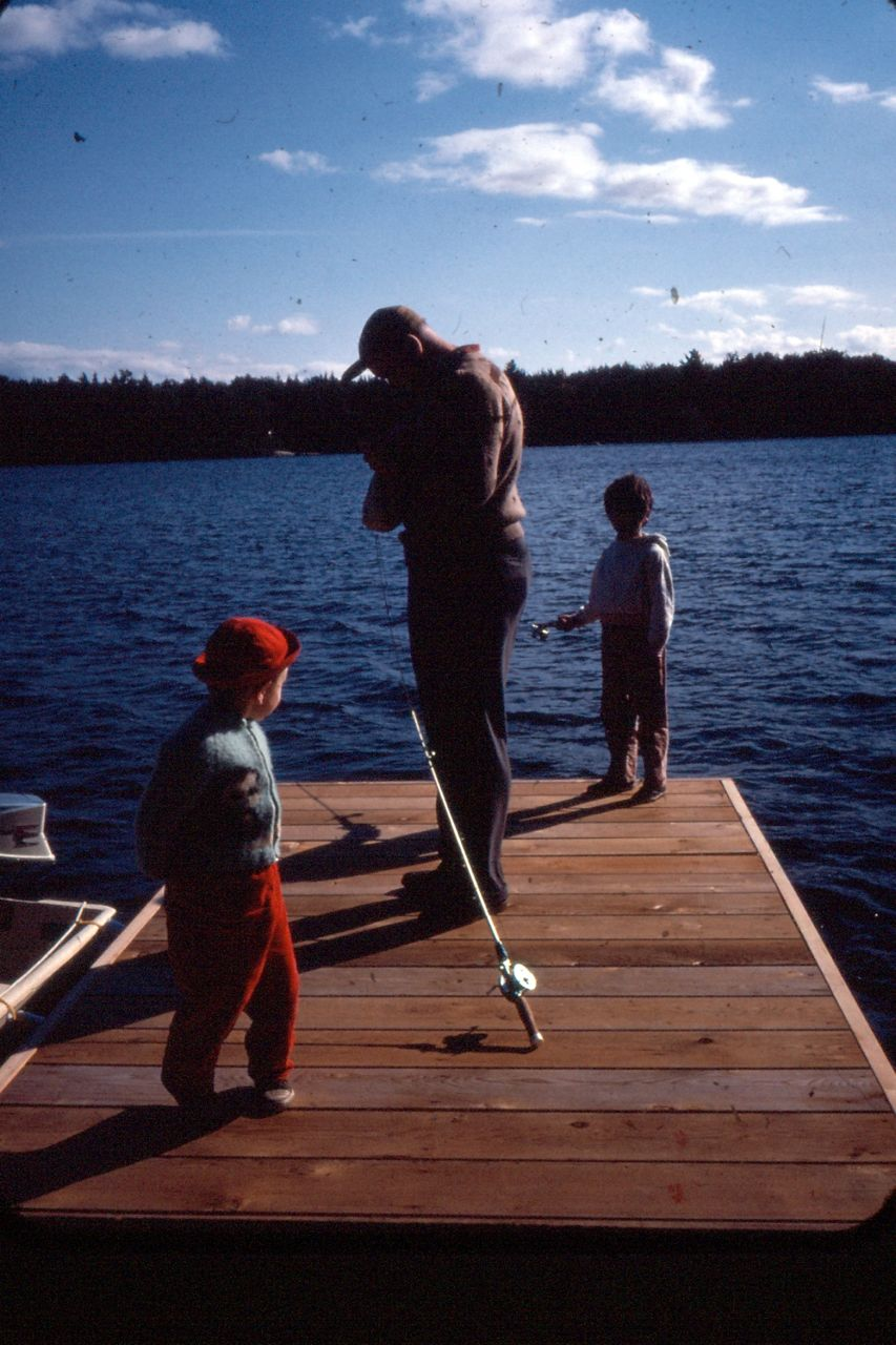 Cottage country reflections docktales what is at your dock for Public fishing access near me