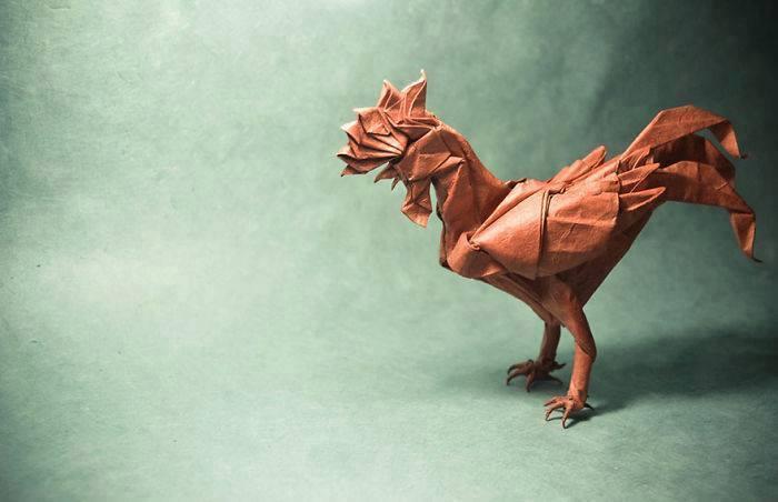 origami-ayam