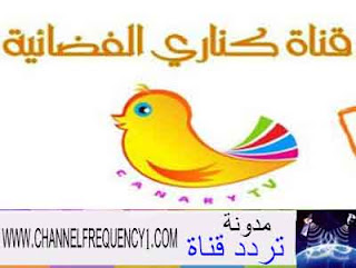 Canary frequency channel on Nilesat